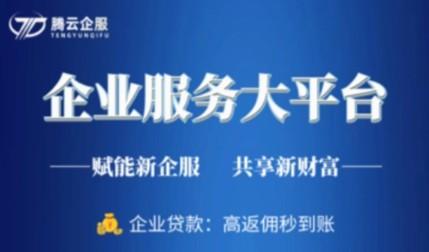 腾云企服:专业企业贷款、税务筹划服务平台